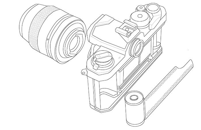Nikon FM2n Breakdown